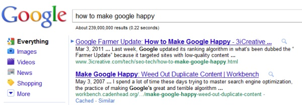 3iCreative - Making Google Happy